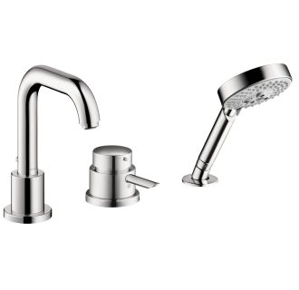 Hansgrohe 04128000 Chrome Focus S Tub Filler Faucet With