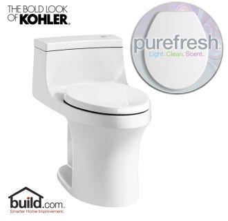 Kohler Purefresh K 4000 White San Souci 1 28 Gpf Elongated