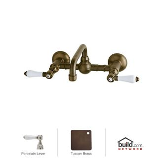 Rohl A1423lptcb 2 Tuscan Brass Country Bath Wall Mounted
