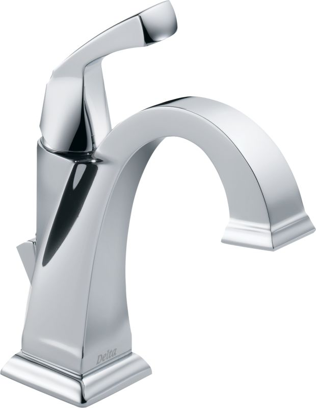 Delta 551 Dst Chrome Dryden Single Hole Bathroom Faucet