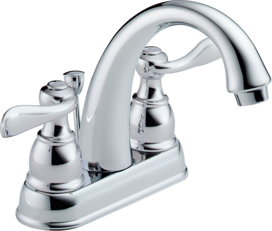 Delta B2596lf Chrome Windemere Centerset Bathroom Faucet