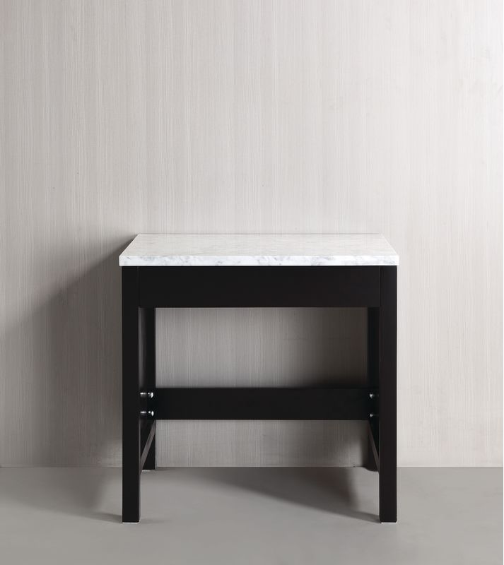 Design Element MUT Espresso London 30 Free Standing Make Up Table With