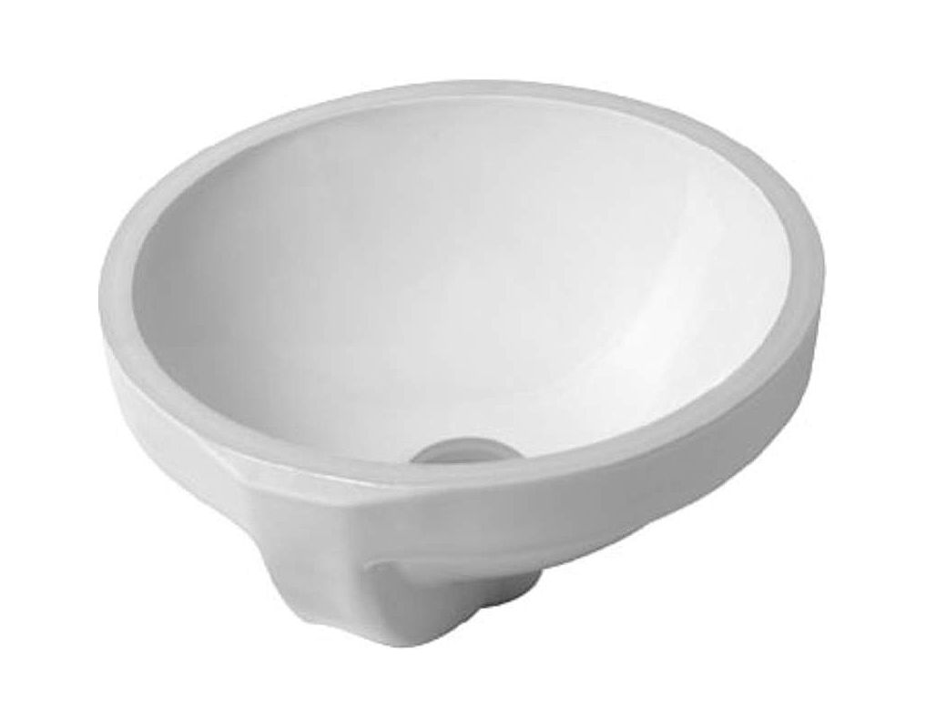 Duravit 0319320000 white architec 14 1 4 ceramic for Duravit architec sink