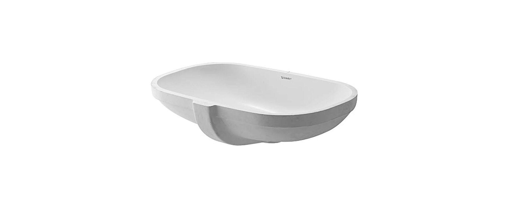 Duravit Ada Sink : Duravit 0338490000 White D-code 20-3/4