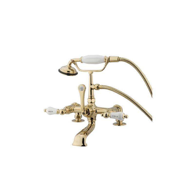 Elements Of Design DT2032CL Polished Brass PVD Triple