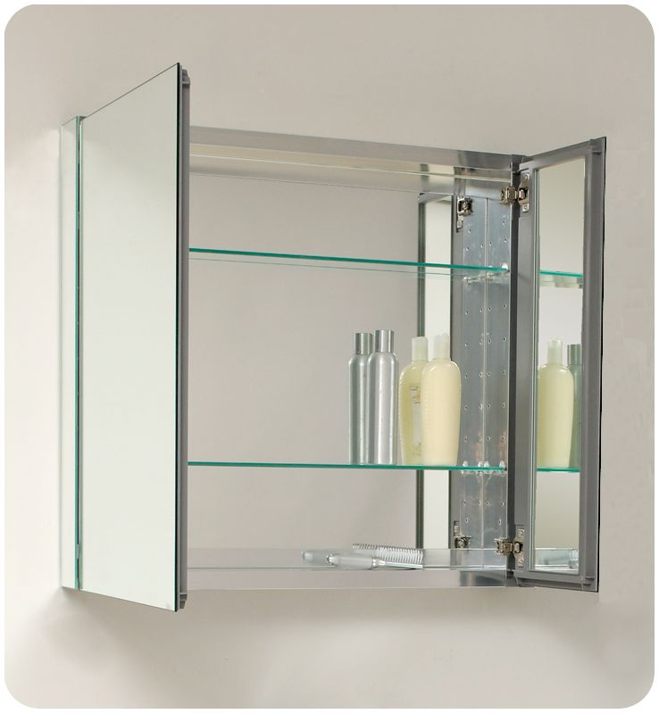 recessed mounted medicine cabinet 1