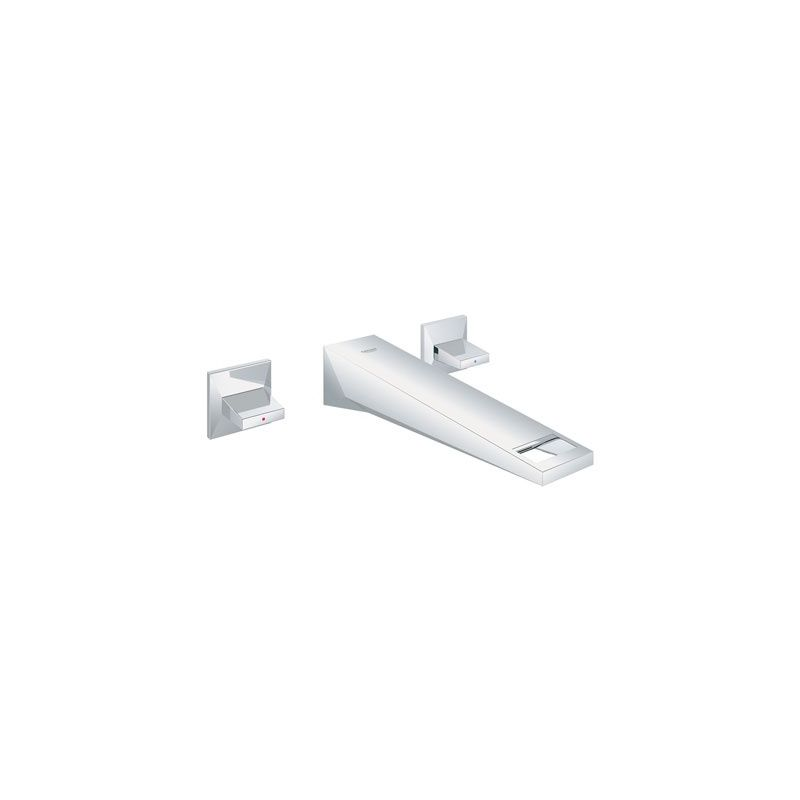 Grohe Allure Bathroom Faucet: Grohe 20347000 Starlight Chrome Allure Brilliant Wall