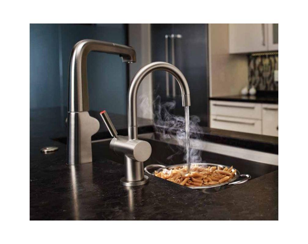 InSinkErator F-HC3300C Chrome Instant Hot Water Dispenser, Single ...
