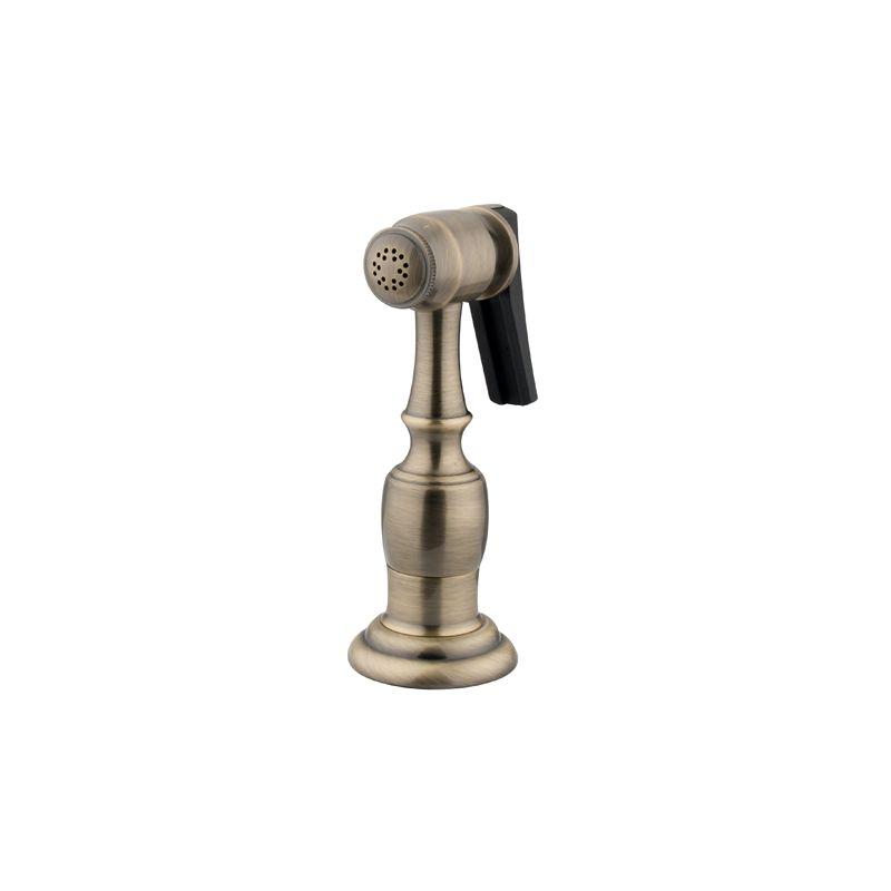 Kingston Brass Kbspr3 Antique Brass Side Sprayer With 49 Hose
