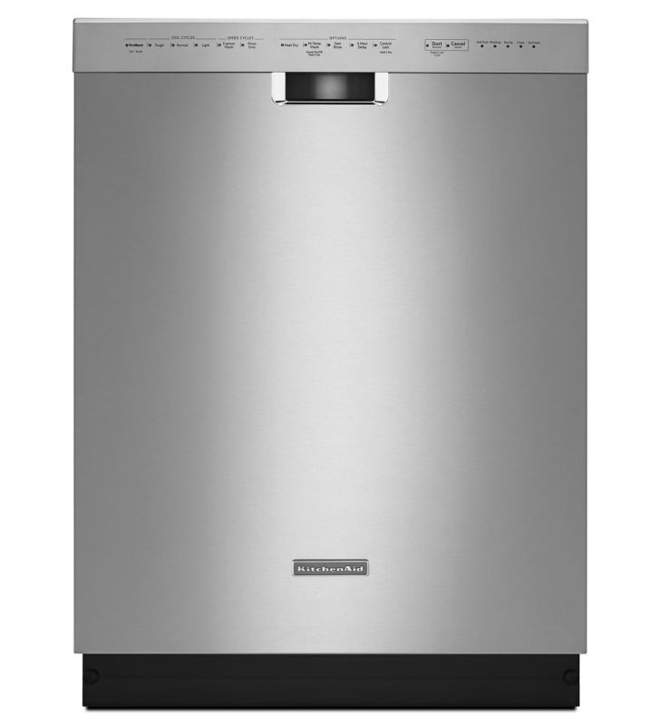 kitchenaid kdfe104dss stainless steel 24 inch wide energy
