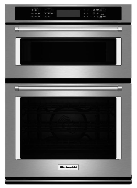 Kitchenaid Wall Oven Light Bulb : KitchenAid KOCE507ESS Stainless Steel 27 Inch Wide 4.3 Cu. Ft. Combination Wall Oven with 1.4 Cu ...