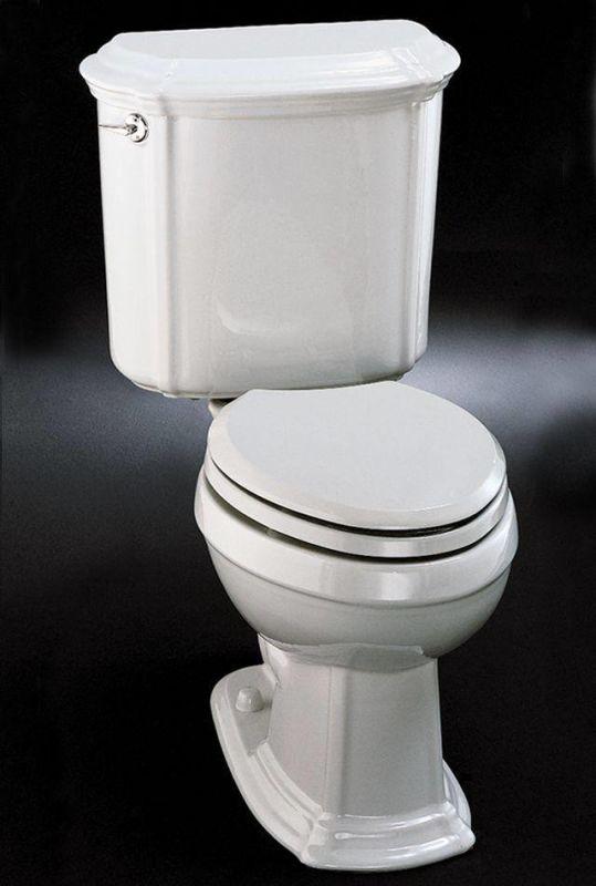 Kohler K-3591-95 Ice Grey Portrait elongated toilet with left-hand ...