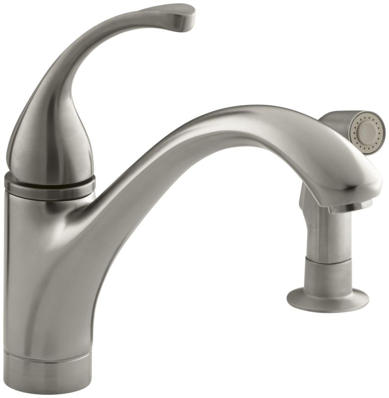 Kohler Forte Kitchen Faucet Parts: Kohler K-10416-BV Brushed Bronze Single Handle Kitchen