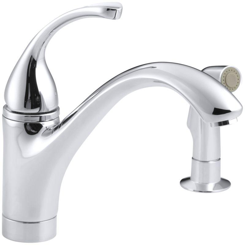 Kohler Forte Single Handle Kitchen Faucet Repair: Kohler K-10416-BV Brushed Bronze Single Handle Kitchen