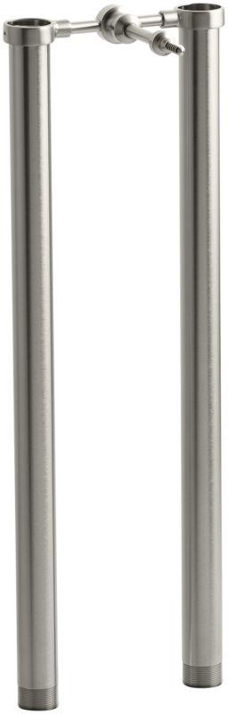 Kohler K 18492 Bn Brushed Nickel Symbol Floor Mount Riser