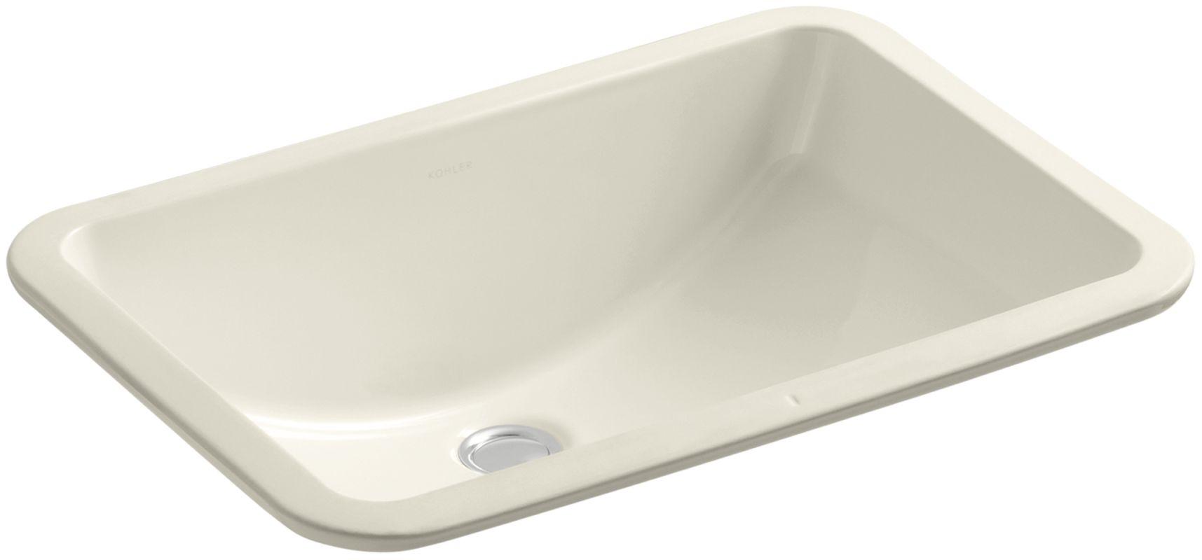 Kohler K 2214 G 47 Almond Ladena 18 3 8 Undermount Bathroom Sink