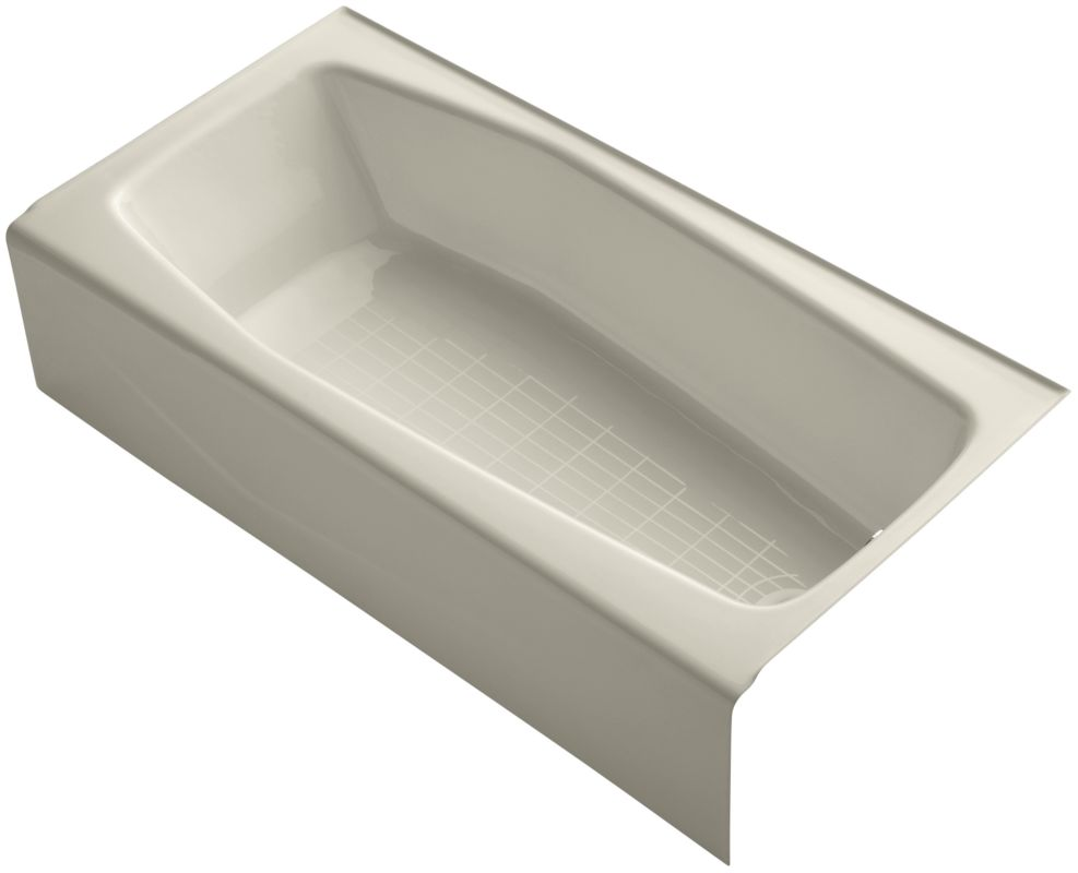 Kohler K 716 47 Almond Villager Collection 60 Quot Three Wall