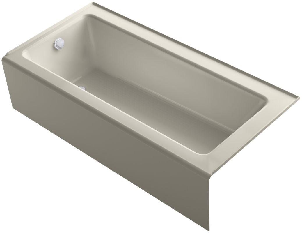 Kohler K 847 0 White Bellwether Bath Tub 66 Quot L X 32 Quot W
