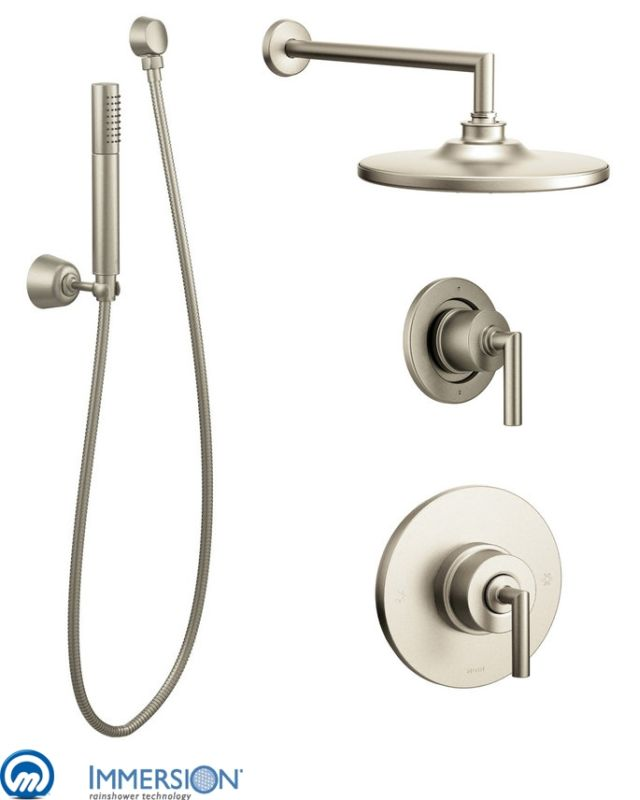 Moen 925bn Brushed Nickel Pressure Balanced Shower System