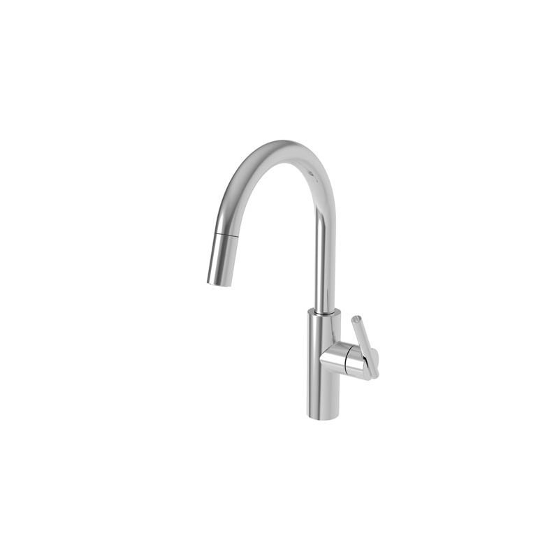 Black Faucet Pullout Spray High Arc Kitchen