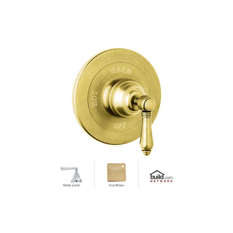 Rohl A1400lhib Inca Brass Country Bath Shower Valve Trim