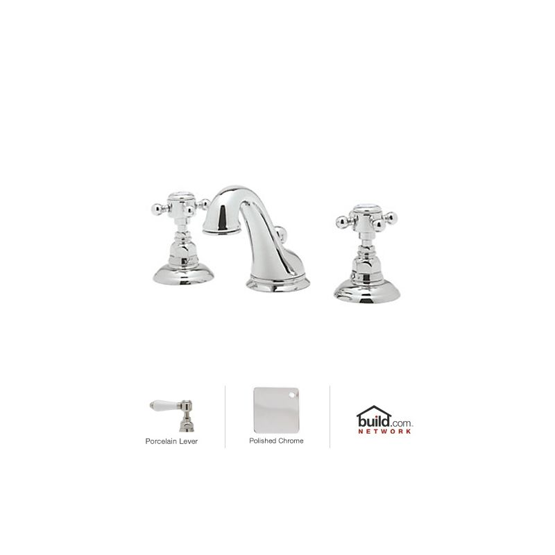Rohl A1408lpapc 2 Polished Chrome Country Bath Widespread