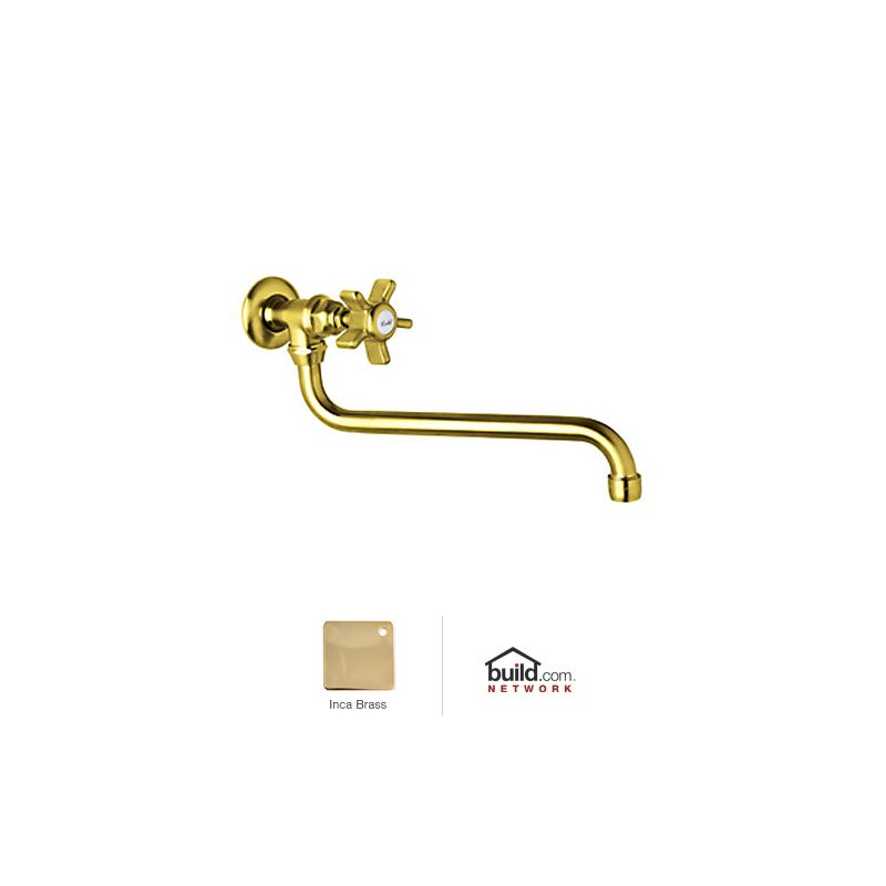 Rohl A1444xib 2 Inca Brass Country Kitchen Wall Mounted