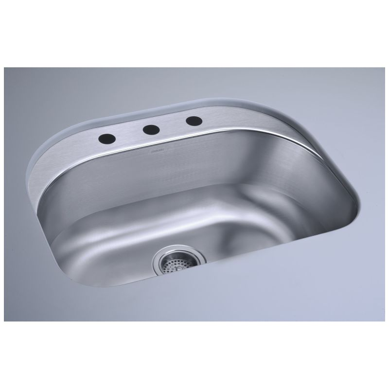 Sterling Kitchen Sink : ... Basin Undermount Stainless Steel Kitchen Sink with SilentShield