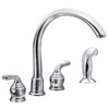 Shop Double Handle Kitchen Faucets