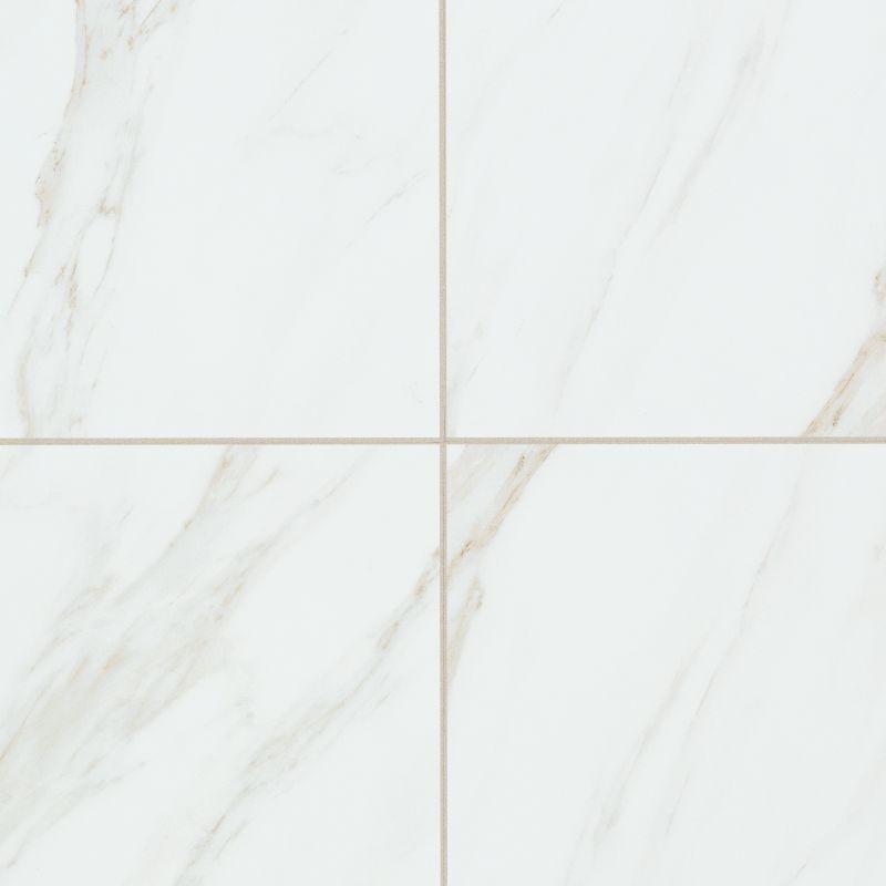 Mohawk industries 16157 bianco cararra bianco cararra for 18 inch tiles floor