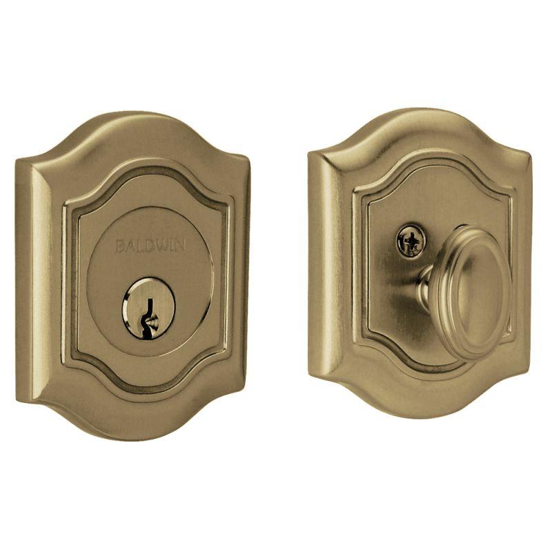 Baldwin 8237112 Venetian Bronze Bethpage Single Cylinder