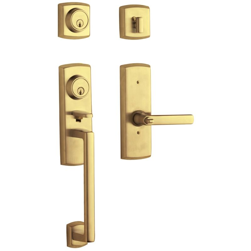 Baldwin 853850032lh Lifetime Polished Brass Soho Two Point