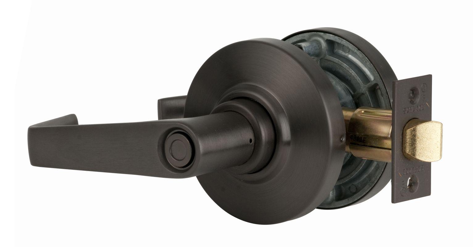 Schlage Al40sat613 Oil Rubbed Bronze Saturn Privacy Door