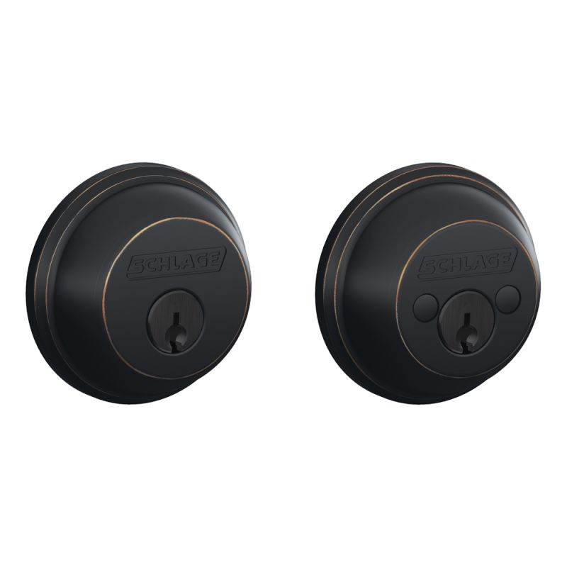 Schlage Double Cylinder Deadbolt Handlesets Door Autos Post