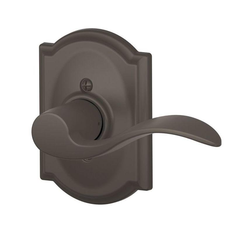 Schlage F170acc605camrh Polished Brass Single Dummy Accent