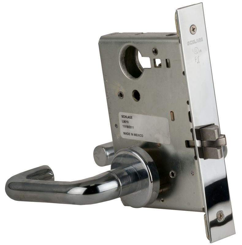 Schlage L9010625 Polished Chrome L Series Commercial Grade