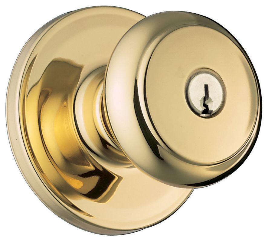 Weiser Lock Ga531t3br Lifetime Polished Brass Troy Single