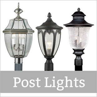 Shop All Forte Lighting Post Lights!