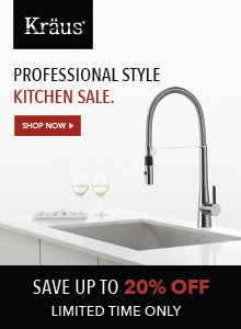 Shop Kraus' Professional Style Kitchen Sale!