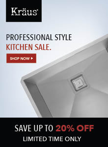 Shop The Kraus Professional Style Kitchen Sale and SAVE BIG!