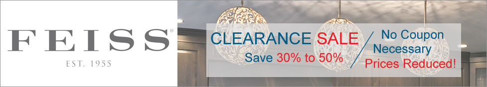 Feiss Clearance Sale