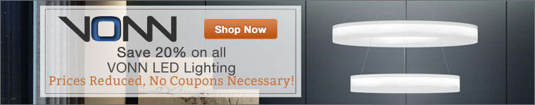 VONN Sale, Save 20% on all VONN Lighting