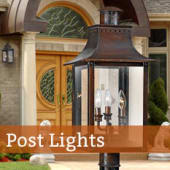 Shop Quoizel Outdoor Post Lights