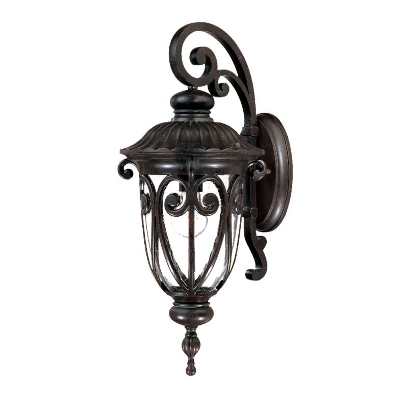 Landscape Lighting Naples Fl: Acclaim Lighting 2112BK Matte Black Naples 1 Light Outdoor