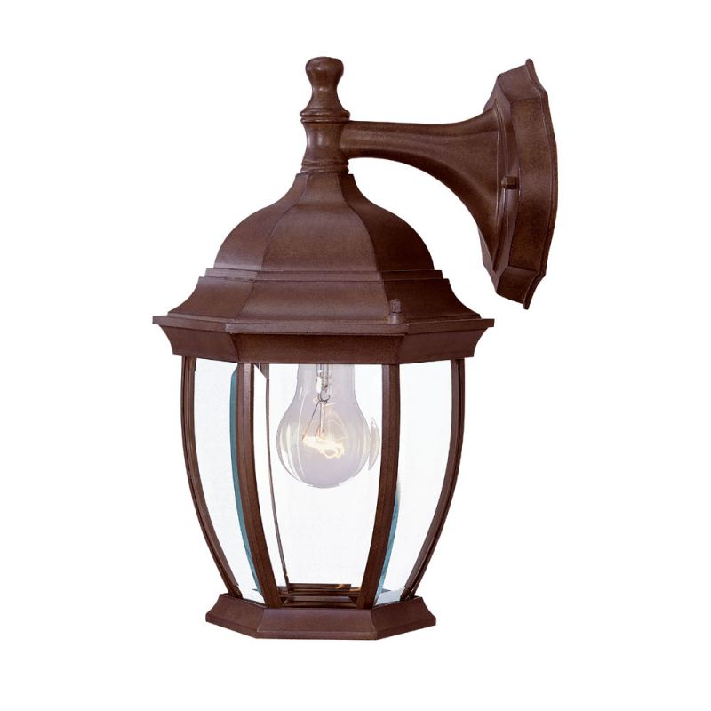 Acclaim lighting 5035bw burled walnut wexford 1 light 13 for Height of sconces