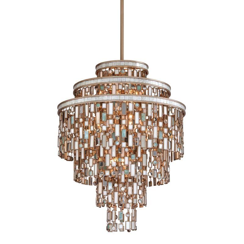 Corbett Lighting 142-413 Dolcetti Silver Dolcetti 13 Light