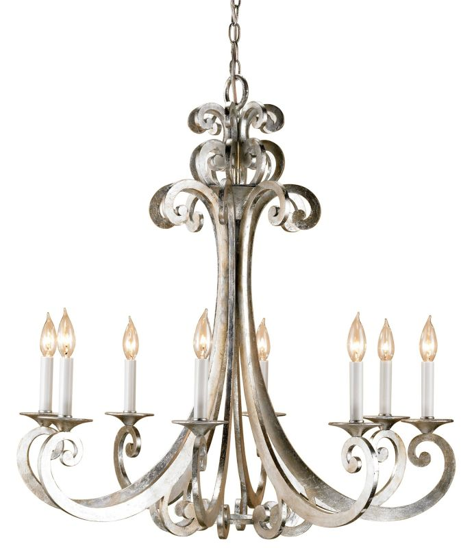 Currey And Company Warranty: Currey And Company 9666 Contemporary Silver Leaf