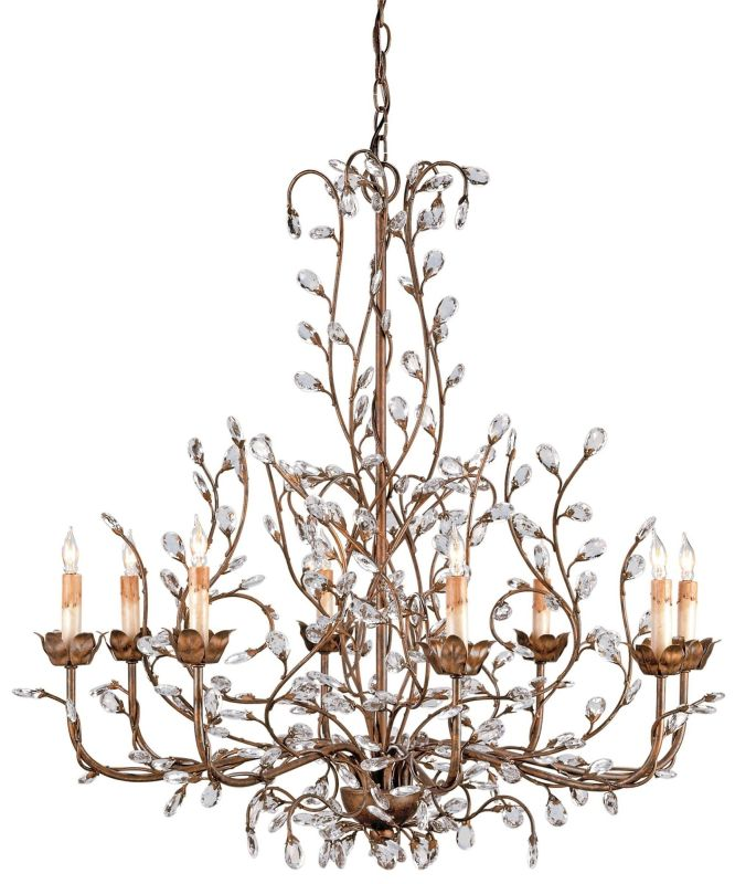 Currey And Company Warranty: Currey And Company 9884 Cupertino Crystal Bud Chandelier