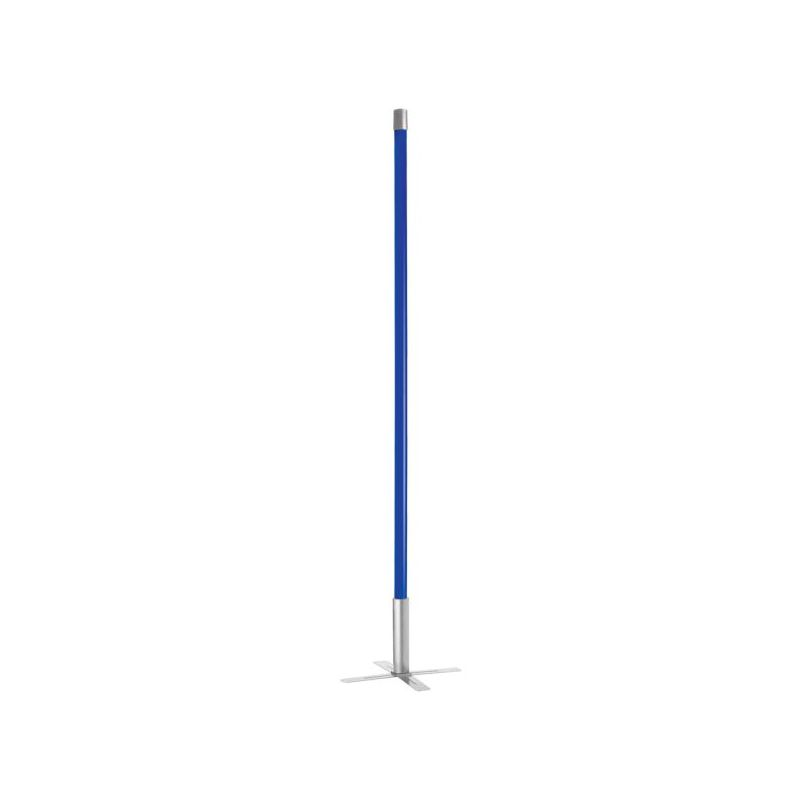 Dainolite dstx 36 bl blue avant garde 1 light floor lamp for Dainolite 7 light floor lamp