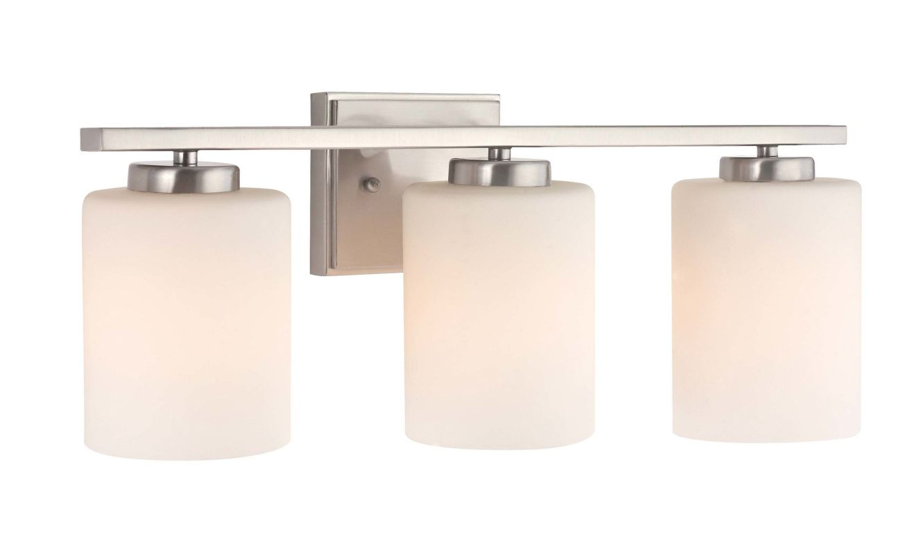 Dolan Designs 3883-09 Satin Nickel 3 Light 7.75